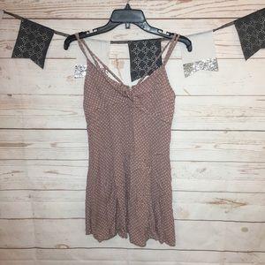 American Eagle Polka Dot Mini Swing Dress Size 4